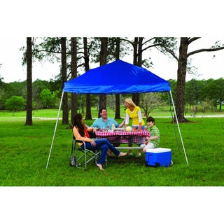 Fast Set Instant Pop Up Slant Wall Canopy (10' x 10')