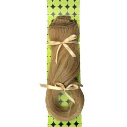 Donna Bella #27/613 (Light Blonde with Strawberry) 16-inch Synthetic Full Head Hair Extensions