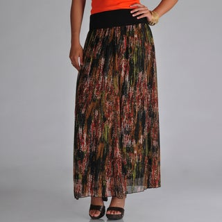 Grace Elements Polyester Maxi Skirt