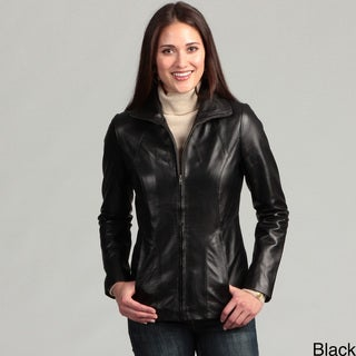 Collezione Women's Plus Italia Leather Jacket