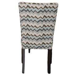 Denton Zigzag Wingback Chairs (Set of 2)