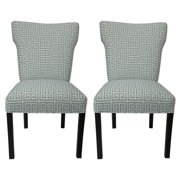 Melrose Chain Wingback Chairs (Set of 2)