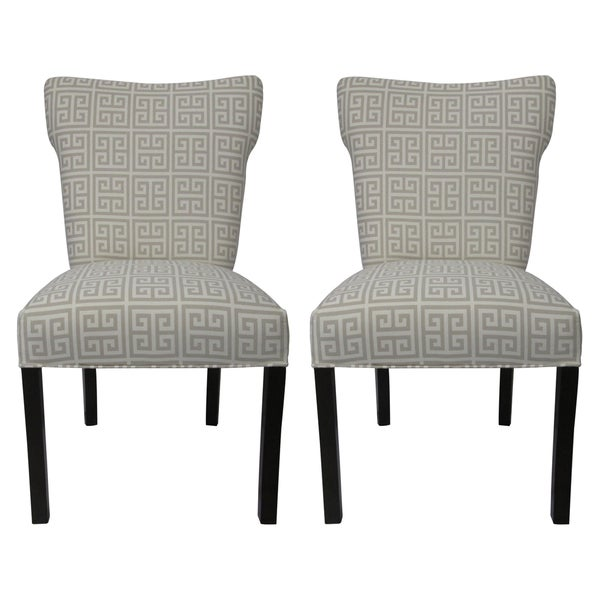 Kasumi Chain Wingback Chairs (Set of 2)