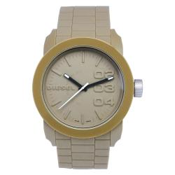 Beige Diesel Men's Domination Watch
