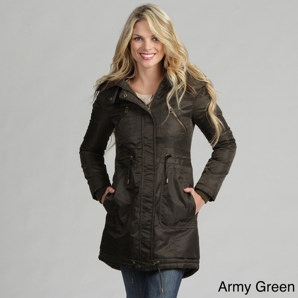 Miss Sixty Women's Faux-fur Hooded Parka