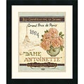 Daphne Brissonnet 'French Seed Packet II' Framed Art Print