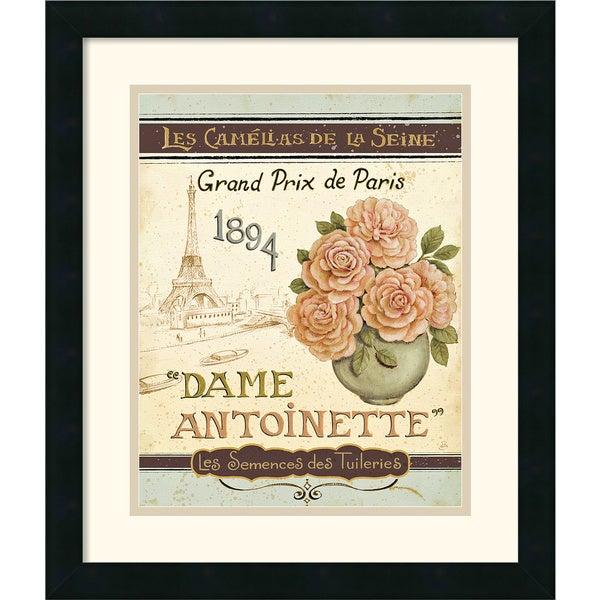 Daphne Brissonnet 'French Seed Packet II' Framed Art Print