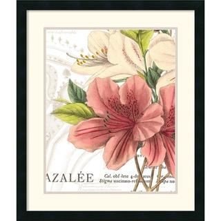 Wild Apple Portfolio 'Azalee Jardin I' Framed Art Print