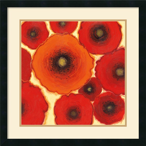 Shirley Novak 'One Orange' Framed Art Print