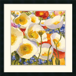 Shirley Novak 'Sunny Abundance III' Framed Art Print
