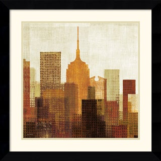 Mo Mullan 'Summer in the City II' Framed Art Print