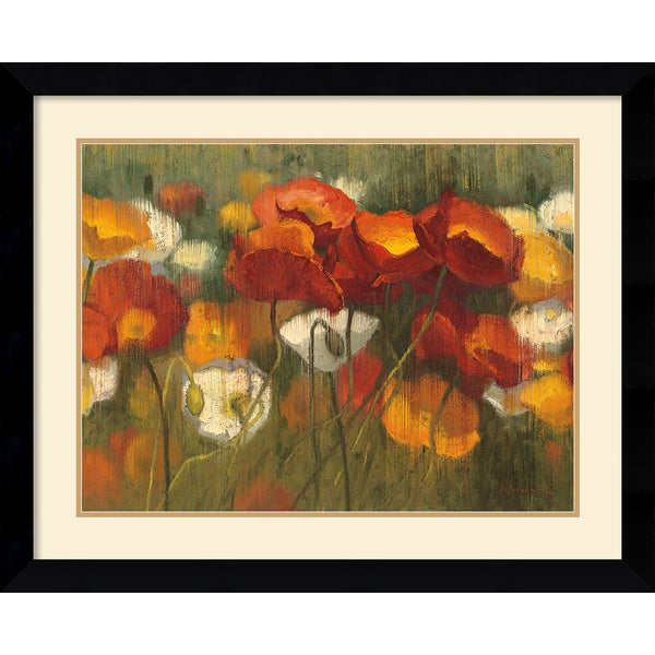 Shirley Novak 'The Power of Red II' Framed Art Print