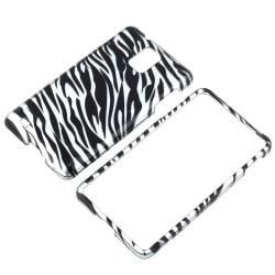 BasAcc Silver/ Black Zebra Case for Samsung Infuse 4G SGH-i997