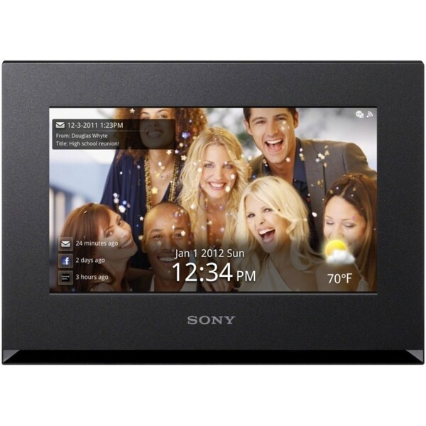 """Sony 7"""" Digital Photo Frame with Wi-Fi"""