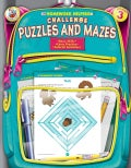 Homework Helper Challenge Puzzles And Mazes, Grade 3 (Paperback)