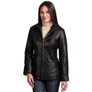 Collezione Italia Women's 'Itslia' Lambskin Leather Jacket