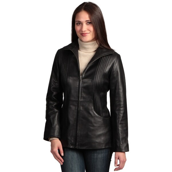 Collezione Italia Women's 'Itslia' Lambskin Leather Jacket