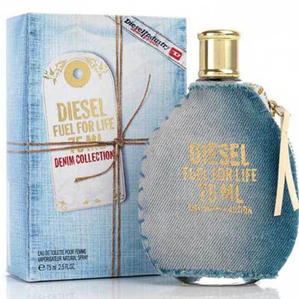 Diesel Fuel For Life Women's 2.5-ounce Eau de Toilette Spray (Denim Collection)