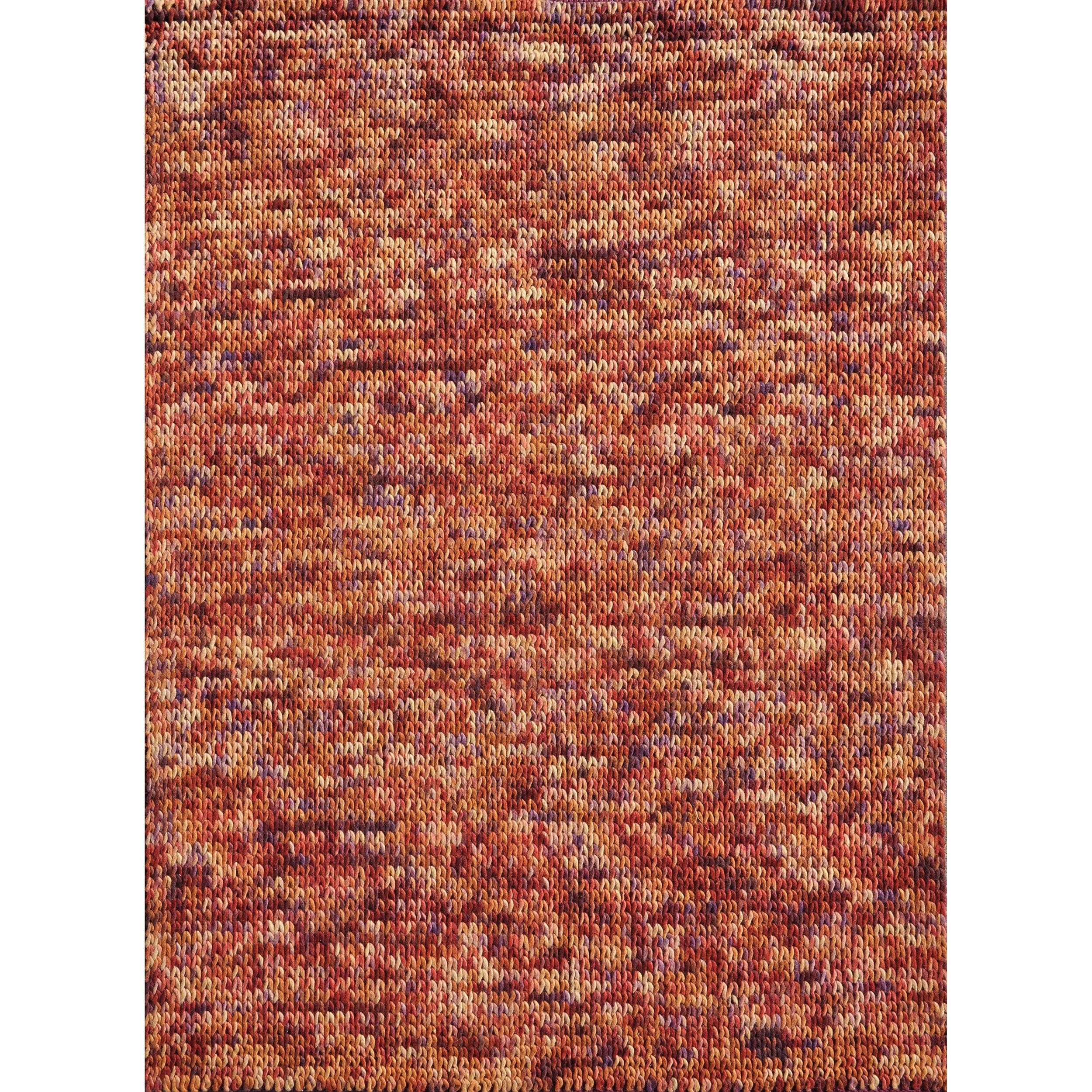 Hand-woven Gilderoy Spice Wool Rug (7'6 x 9'6)