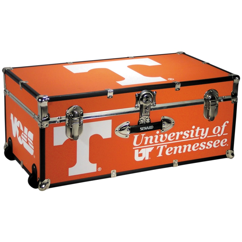 University of Tennessee 30-inch Wheeled Foot Locker Trunk