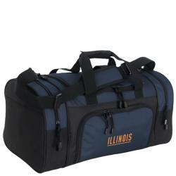 University of Illinois Collegiate Duffle Bag
