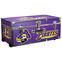 University of East Carolina 30-inch Wheeled Foot Locker Trunk