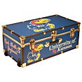 University of Kansas 30-inch Wheeled Foot Locker Trunk