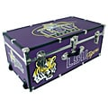 Louisiana State University 30-inch Wheeled Foot Locker Trunk