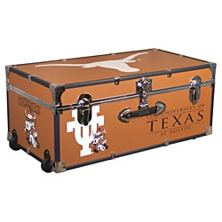 University of Texas 30-inch Wheeled Foot Locker Trunk