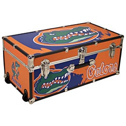 University of Florida 30-inch Wheeled Foot Locker Trunk