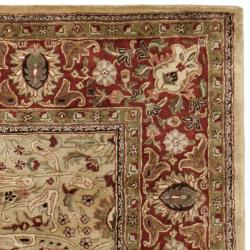 Safavieh Handmade Persian Legend Gold/ Rust Wool Rug (9'6 x 13'6)