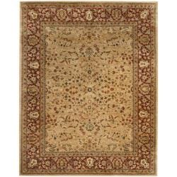 Handmade Persian Legend Ivory/ Rust Wool Rug (8'3 x 11')