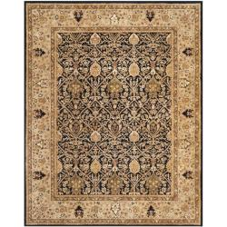 Handmade Persian Legend Blue/ Gold Wool Rug (9'6 x 13'6)