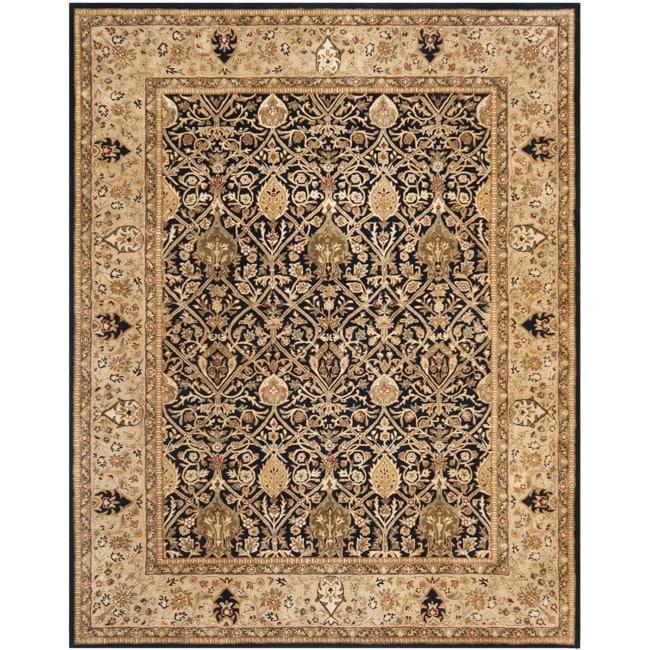 Safavieh Handmade Persian Legend Blue/ Gold Wool Rug (7'6 x 9'6)