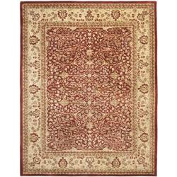 Handmade Persian Legend Rust/ Beige Wool Rug (9'6 x 13'6)