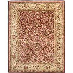 Handmade Persian Legend Rust/ Beige Wool Rug (9'6 x 13'6)