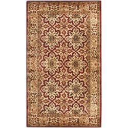Handmade Persian Legend Beige Wool Rug (2'6 x 4')