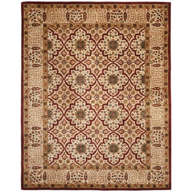 Safavieh Handmade Persian Legend Beige Wool Rug (7'6 x 9'6)