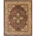 Handmade Persian Legend Red/ Beige Wool Rug (7'6 x 9'6)