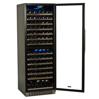 EdgeStar 155 Bottle Built-in or Freestanding Dual Zone Wine Cooler