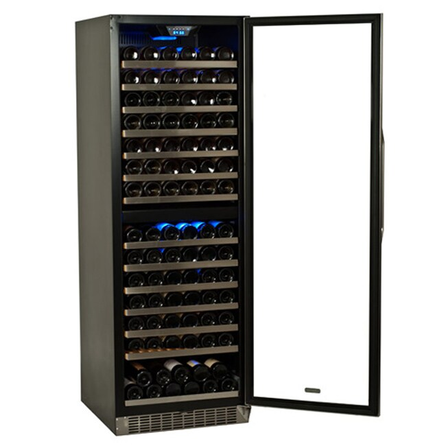 Overstock.com EdgeStar 155 Bottle Built-in or Freestanding Dual Zone Wine Cooler at Sears.com
