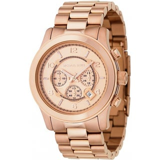 Michael Kors Men's MK8096 Rose-Gold Chronograph Watch