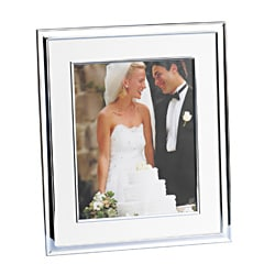Towle Border Ivory Linen 8x10-inch Photo Frame
