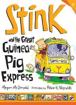 Stink and the Great Guinea Pig Express (Hardcover)