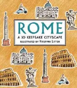 Rome: A 3D Keepsake Cityscape (Hardcover)