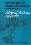Adrenal Actions on Brain (Paperback)