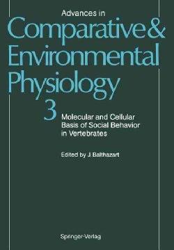 Molecular and Cellular Basis of Social Behavior in Vertebrates (Paperback)