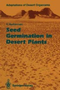 Seed Germination in Desert Plants (Paperback)
