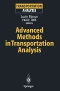 Advanced Methods in Transportation Analysis (Paperback)
