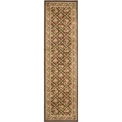 Safavieh Lyndhurst Floral Trellis Brown Rug (2'3 x 12')